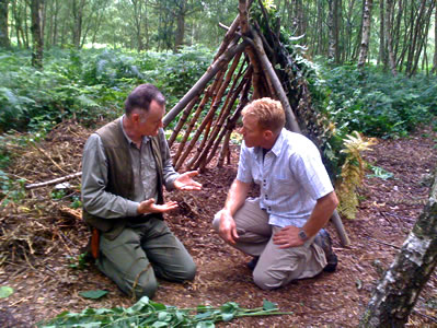 Dave with BBC Countryfile presenter Adam Henson