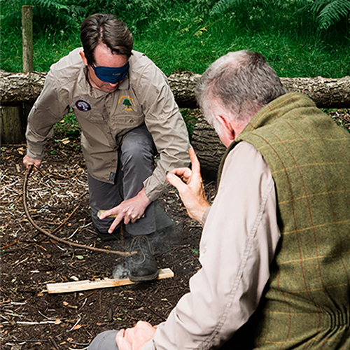 Professional Bushcraft training